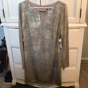 Women's Gold Vince Camuto Dress
